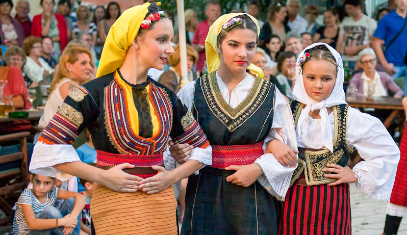 International Folk Dance Festival in Thassos, Greece