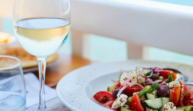 The ABC's of Greek Wine and Cuisine